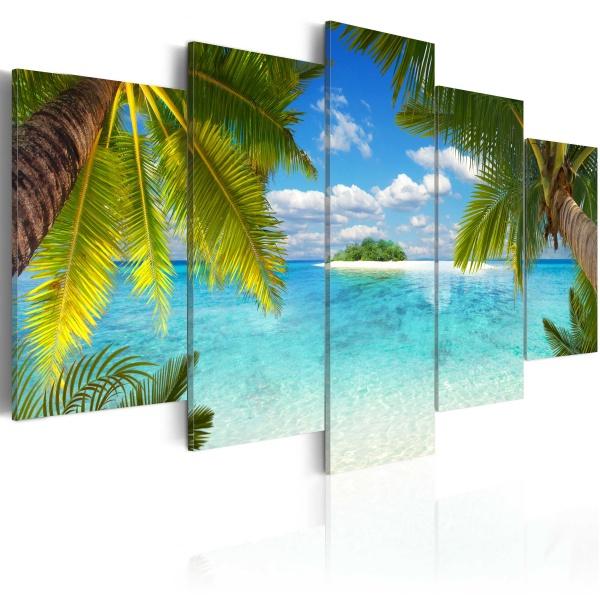Obraz - Rajska wyspa (100x50 cm) A0-N3366