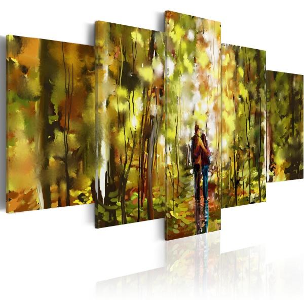 Obraz - Romantyczny spacer (100x50 cm) A0-N2635