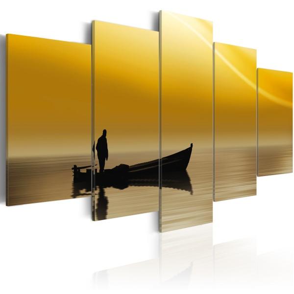 Obraz - Rybak (100x50 cm) A0-N1865