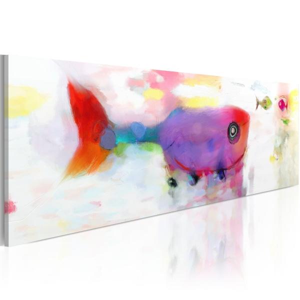 Obraz - Rybki z morskich głębin (120x40 cm) A0-N2680