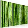 Obraz - Ściana z bambusa A0-N1368