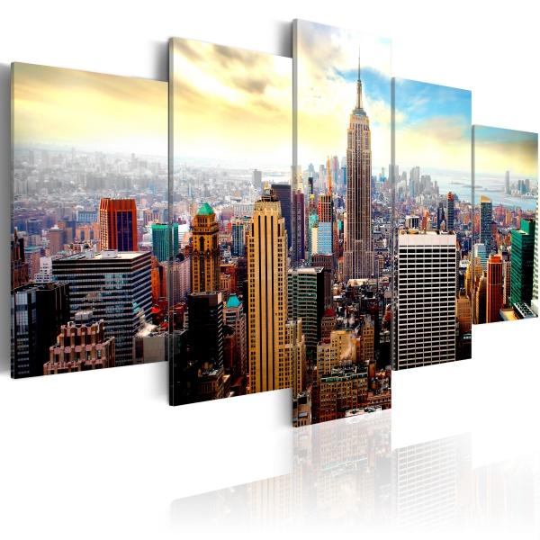 Obraz - Serce miasta (100x50 cm) A0-N2809