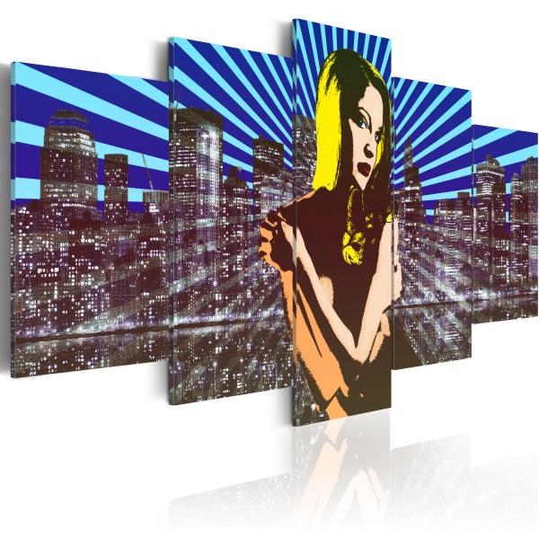 Obraz - Siła osobowości (100x50 cm) A0-N2313