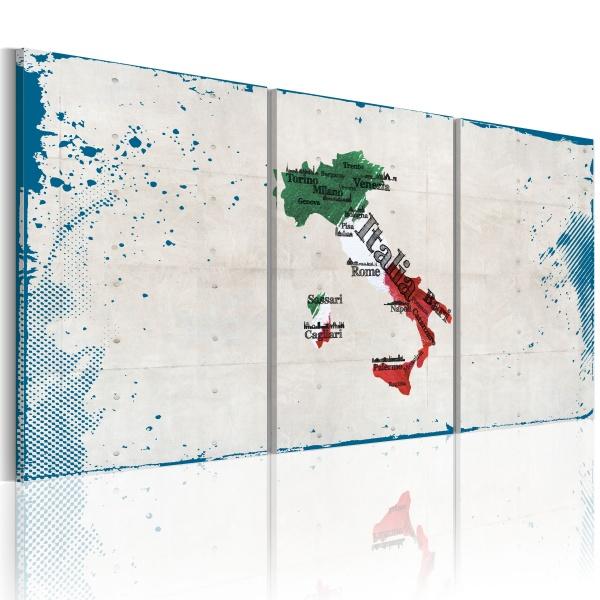 Obraz - Słynne miejsca - Włochy (60x30 cm) A0-N2086