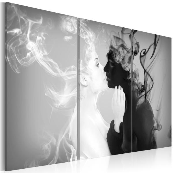 Obraz - Smoky kiss (60x40 cm) A0-N2911