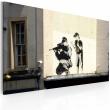 Obraz - Snajper i chłopiec (Banksy) A0-N1806