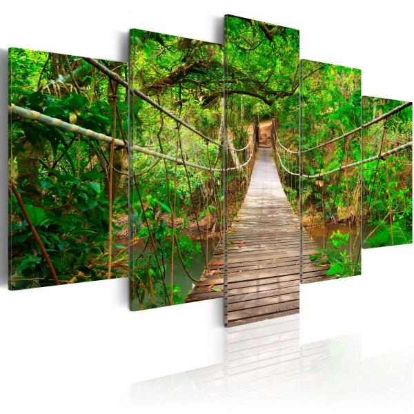 Obraz - Spacer pośród drzew (100x50 cm) A0-N2955