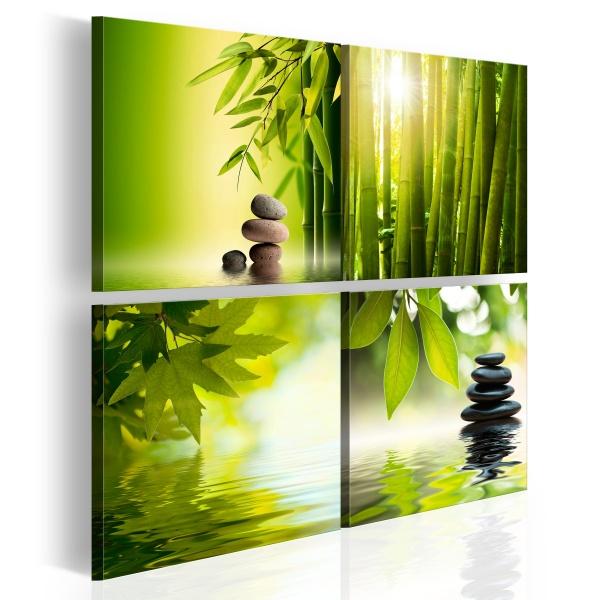 Obraz - Spokój (40x40 cm) A0-N2882