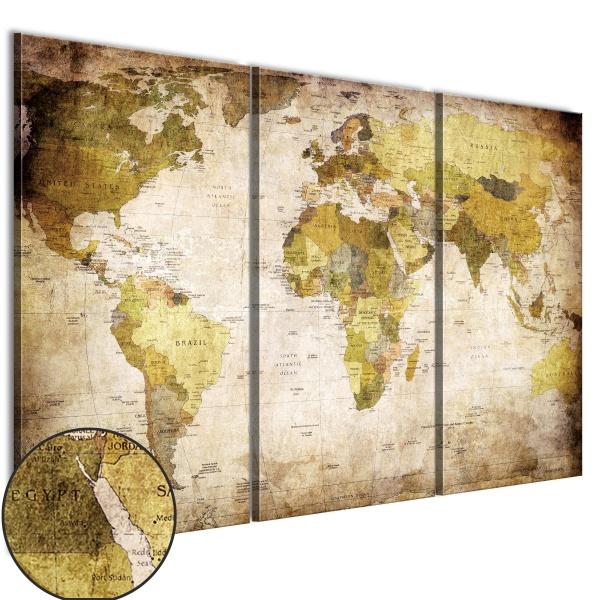 Obraz - Stare kontynenty (60x40 cm) A0-N2681