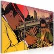 Obraz - Stolica jazzu - Nowy Jork A0-N1724