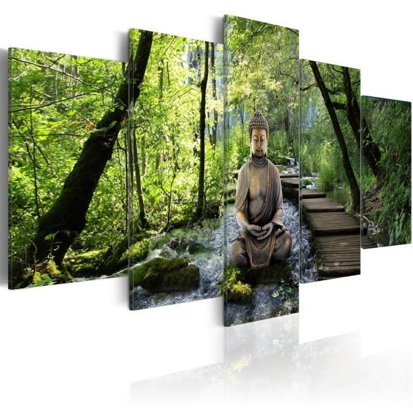 Obraz - Strumień świadomości (100x50 cm) A0-N2795
