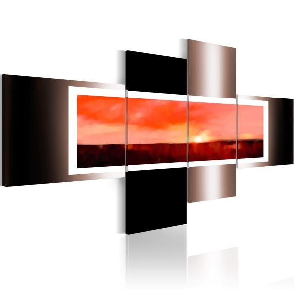 Obraz - Styl i subtelność (100x45 cm) A0-N2439