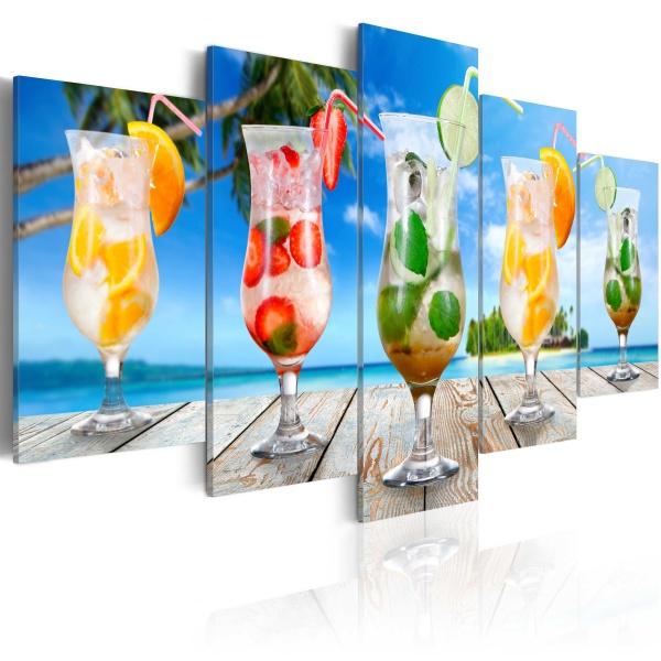 Obraz - Summer drinks (100x50 cm) A0-N3174