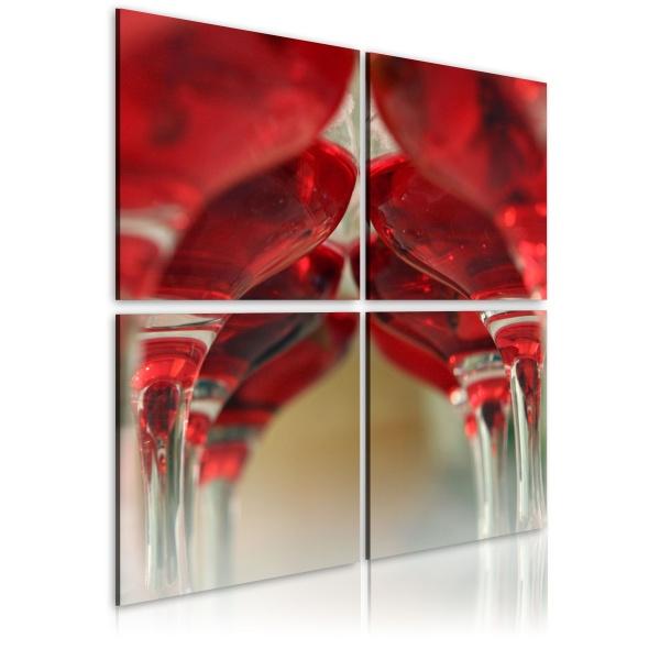 Obraz - Summer wine (40x40 cm) A0-N1974