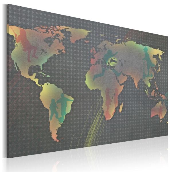 Obraz - Świat dziecka (60x40 cm) A0-N2040
