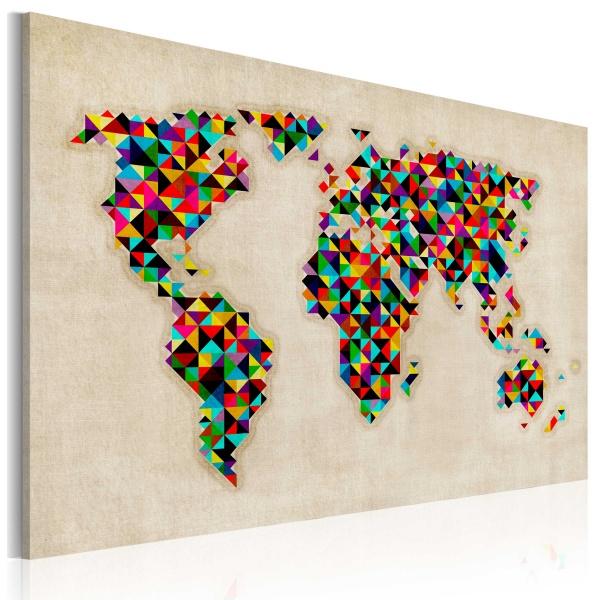 Obraz - Świat jak kalejdoskop (60x40 cm) A0-N2161