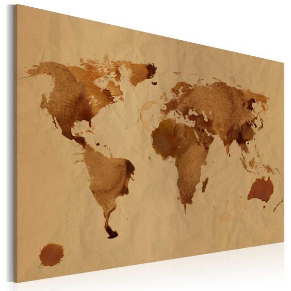 Obraz - Świat kawą malowany (60x40 cm) A0-N2030