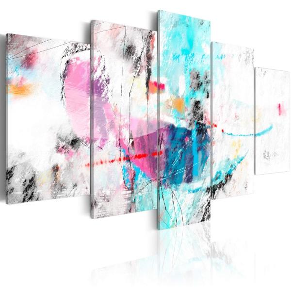 Obraz - Szaleństwo w delikatności (100x50 cm) A0-N2883