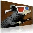 Obraz - Szczur w okularach 3D (Banksy) A0-N1815