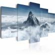 Obraz - Szczyt góry ponad chmurami A0-N1468