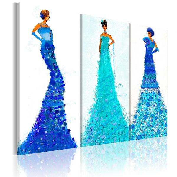 Obraz - Szykowne kreacje (60x50 cm) A0-N2596