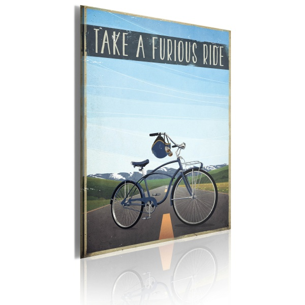 Obraz - Take a furious ride (50x70 cm) A0-OBRPLK26