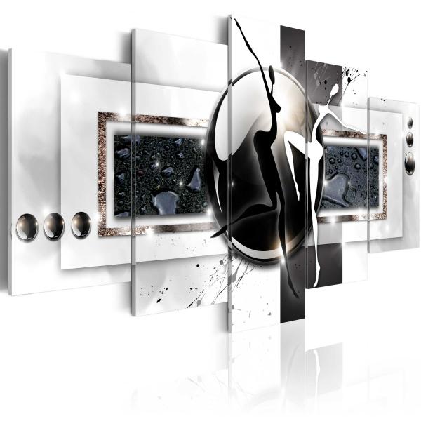 Obraz - Taniec przeciwieństw (100x50 cm) A0-N3250