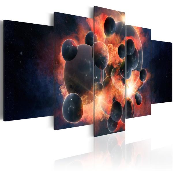 Obraz - Teoria stworzenia wszechświata (100x50 cm) A0-N2609