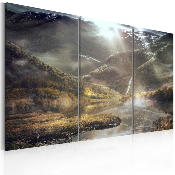 Obraz - The land of mists - triptych (60x40 cm) A0-N2532