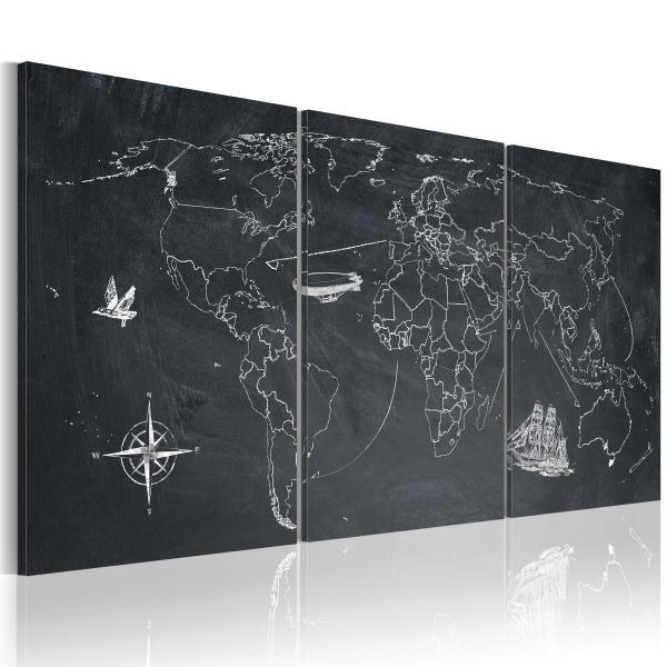 Obraz - Tropem Kolumba (60x30 cm) A0-N2087