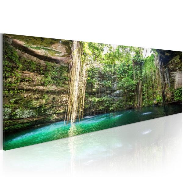 Obraz - Ukryty skarb natury (120x40 cm) A0-N3766
