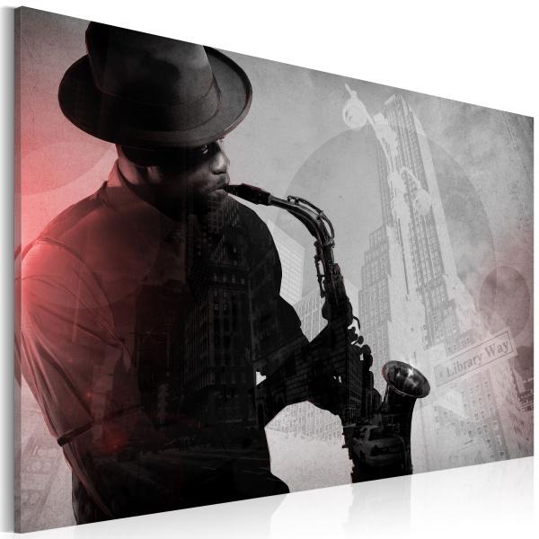 Obraz - Urban Jazz (60x40 cm) A0-N2602