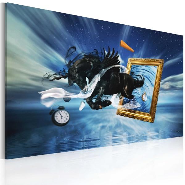 Obraz - Urzeczywistnienie (60x40 cm vlies-leinwand cm) A0-N2710