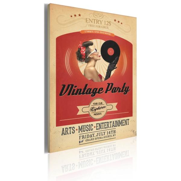 Obraz - Vintage party (50x70 cm) A0-OBRPLK21