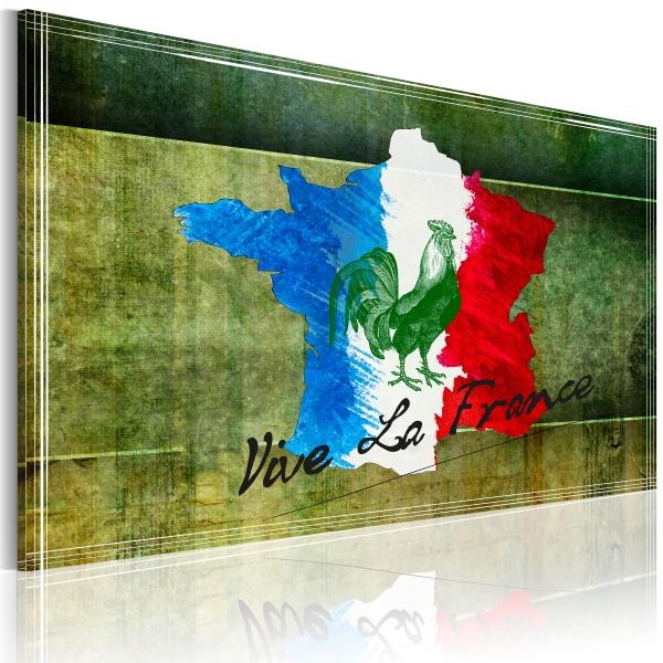 Obraz - Vive la France (60x40 cm) A0-N2172