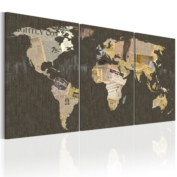 Obraz - Wiadomości kontynentalne (60x30 cm) A0-N2081