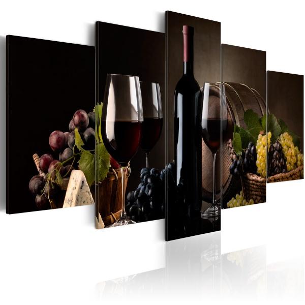 Obraz - Wine, why not? (100x50 cm) A0-N3171