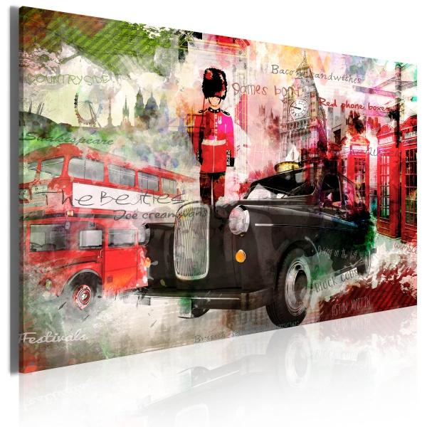 Obraz - Wspomnienia z Londynu (60x40 cm) A0-N2747