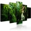 Obraz - Zagubiona w zieleni A0-N1435