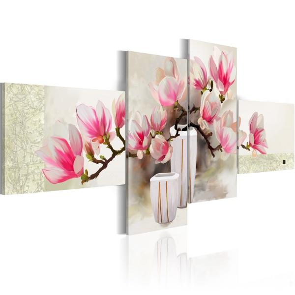 Obraz - Zapach magnolii (100x45 cm) A0-N2637