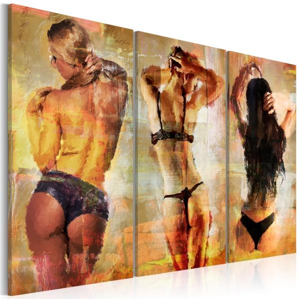 Obraz - Zmysłowe fantazje (60x40 cm) A0-N2765