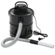 Odkurzacz kominkowy z filtrem HEPA, 1000 W, 20 L, czarny