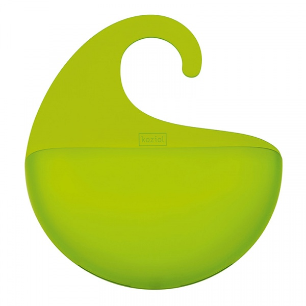 Organizer łazienkowy Koziol Surf XL zielony transparentny KZ-2846543