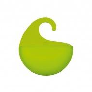 Organizer łazienkowy Koziol Surf XS zielony transparentny