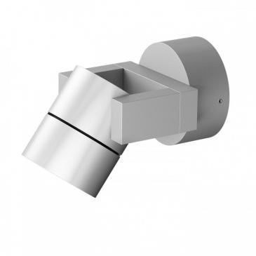 ORIT ścienna  aluminium 230V LED 6W 80° IP44  3000K