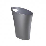 Otwarty kosz na śmieci Umbra Skinny Mesh srebrny