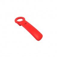 Otwieracz do słoików 5x14 cm Kuchenprofi czerwony