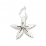 Ozdoba choinkowa L Philippi Stella gwiazdka biała