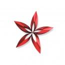 Ozdoba choinkowa L Philippi Stella gwiazdka czerwona