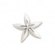 Ozdoba choinkowa S Philippi Stella gwiazdka biała